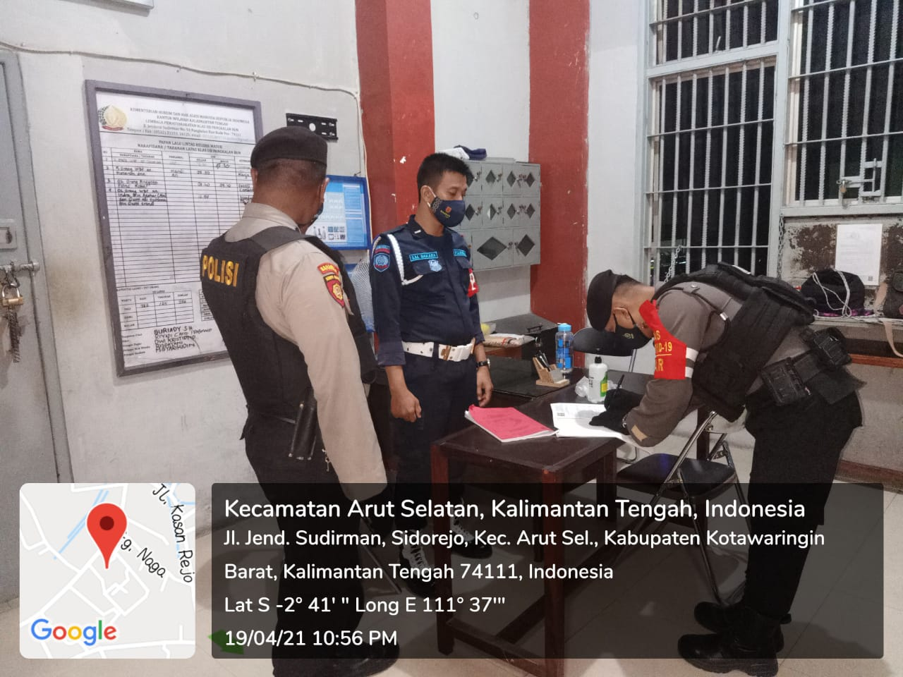 Polisi Periksa Kantor Lapas Kobar