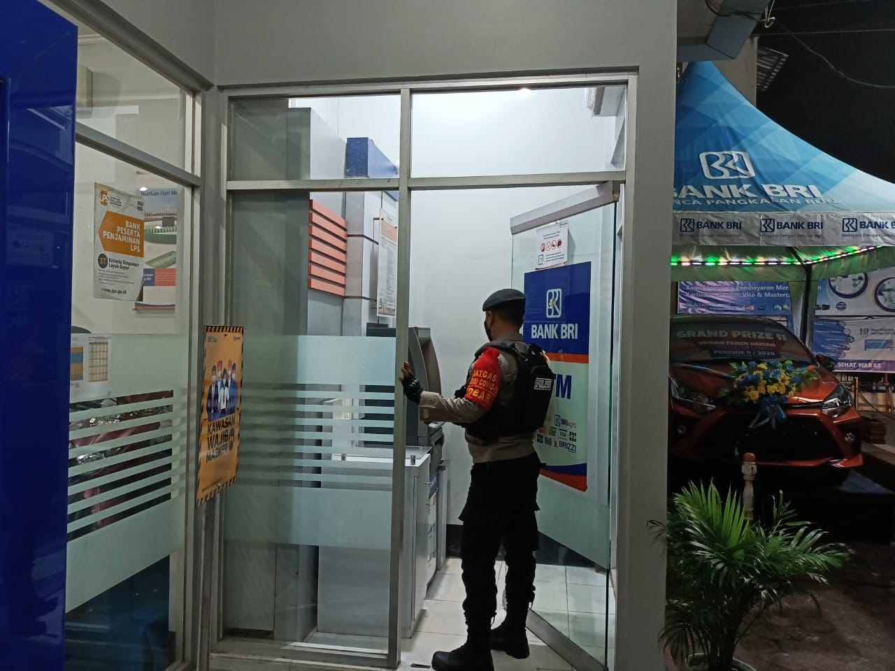 BANK Kalteng diawasi Polisi