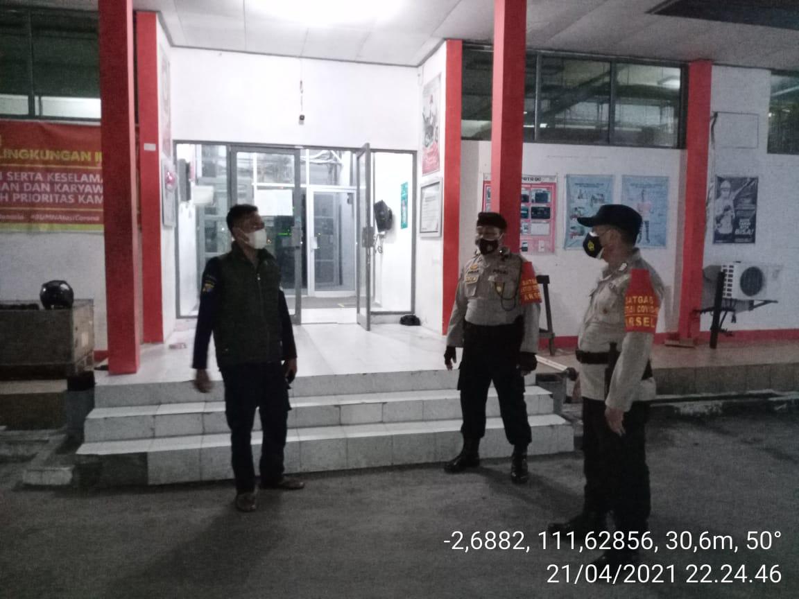 Polsek Arsel Rutin Patroli Ke Objek Vital Kantor Telkom Jl. Sultan Syahrir