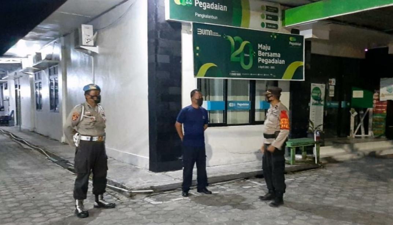 Polsek Arsel Laksanakan Patroli di Obyek Vital Cegah Kriminalitas