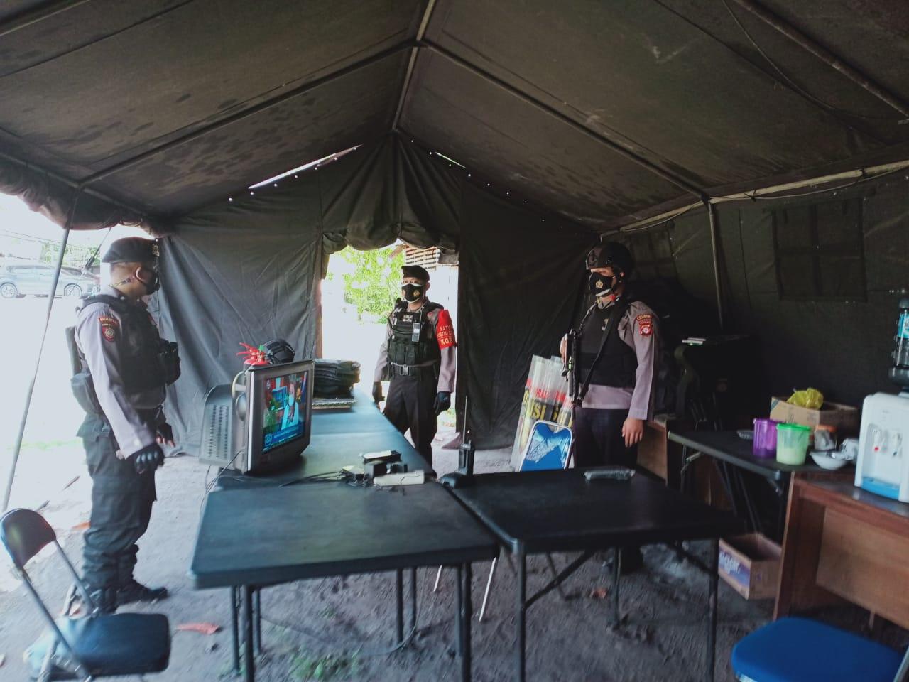 Team Patroli Rajawali Kunjungi KPUD