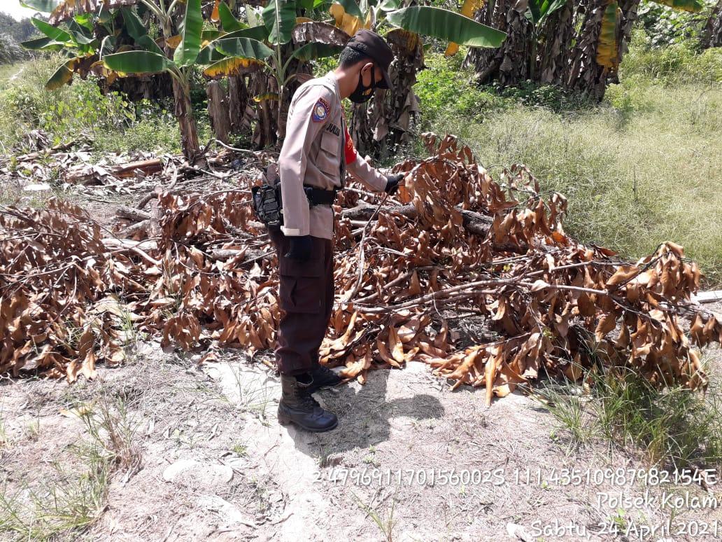 Polsek Kolam Cegah Pembakaran Hutan