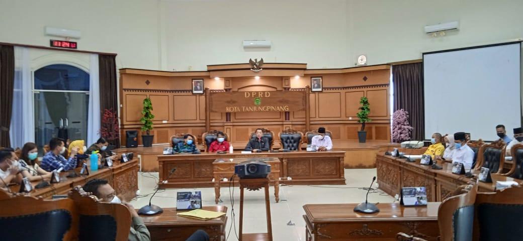 Besok (5/5), Penetapan Cawawako Tanjungpinang