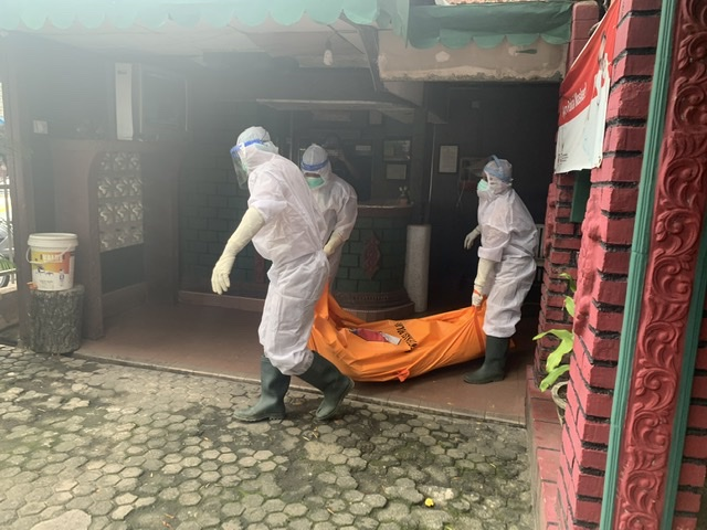Mayat Yang Ditemukan Di Hotel Surya Positif Covid-19