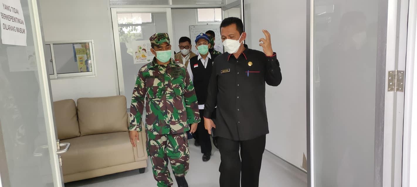 Gubernur Kepri Kunjungi RSKI Galang