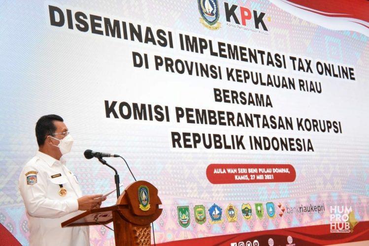 Gubernur Ansar Ingin Maksimalkan Platform Digital untuk Peningkatan Pajak