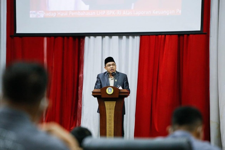 DPRD Kepri Gelar Paripurna Laporan Akhir Banggar