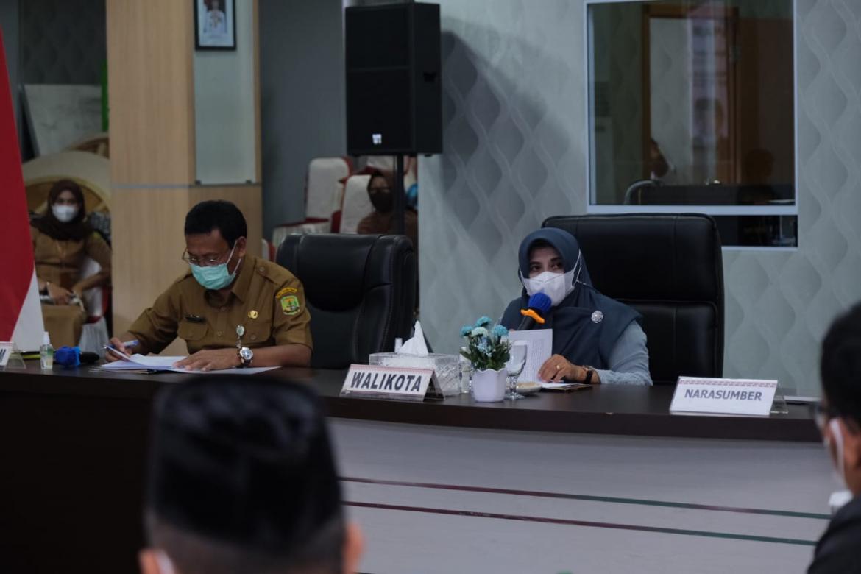 Walikota Buka Rakor Satgas TPPO