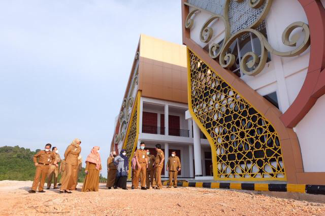 Walikota Tinjau Progres Quran Centre