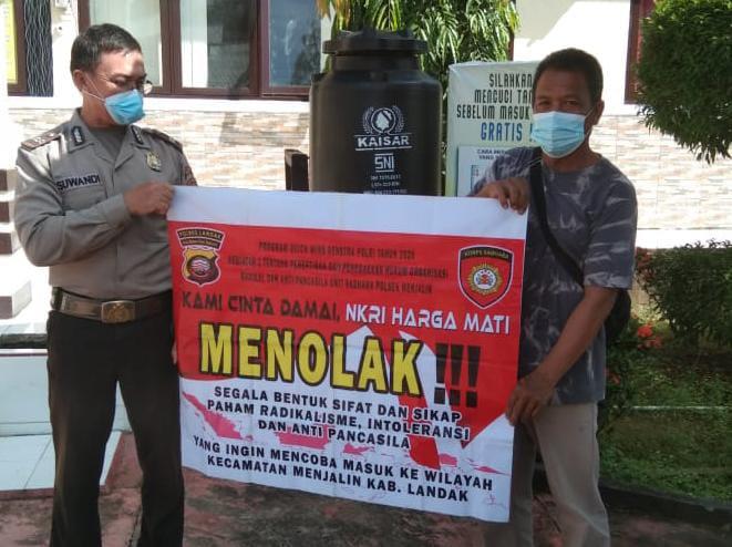 Aliran Sesat, Polisi Meminta Kepada Warganya Untuk Bersatu Padu Melawan Aksi Radikalisme Dan Terorisme