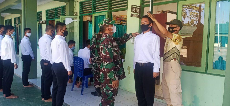 Kadim 1002/HST Tegaskan Penerimaan Secaba PK TNI-AD TA. 2021 Gratis