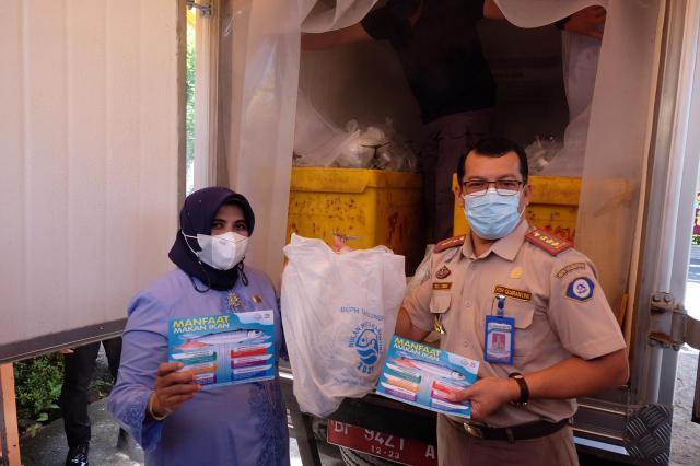 BKIPM Beri Bantuan Ikan Sehat dan Bermutu untuk Masyarakat Tanjungpinang