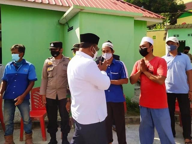 Menanggapi Aduan Masyarakat Terhadap Mesin Pembakar Limbah (Incenerator), Bupati Karimun Dr. H. Aunur Rafiq, S.Sos, M.Si, Turun Langsung meninjau Ke Lokasi.