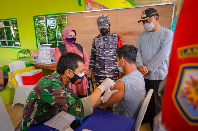 Serbuan Vaksin Covid19 Untuk Masyarakat Maritim