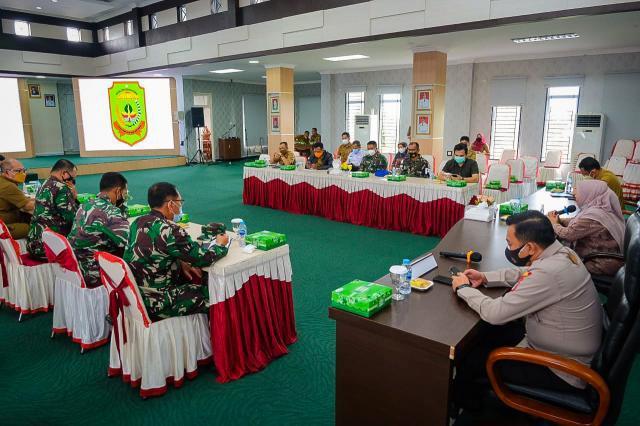 Walikota Lakukan Evaluasi Hari Kedua PPKM Darurat
