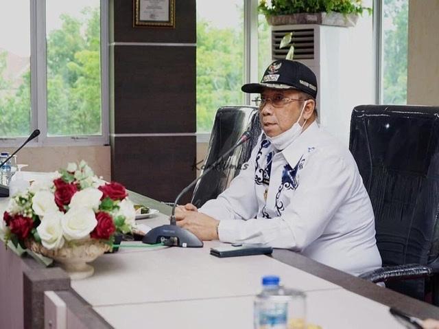 Wakil Bupati Karimun bpk H. Anwar Hasyim, M.Si pimpin Rapat tentang kekosongan dewan pengawas