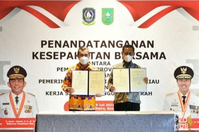 Kepri-Riau Jalin Kerja Sama Pembangunan