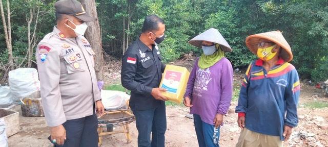 Satresnarkoba Polres Tanjungpinang Berbagi