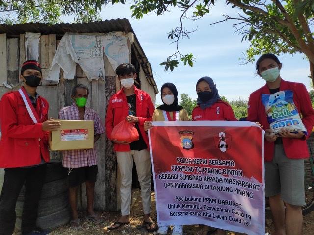 Mahasiswa Nilai Pemko Lambat Salurkan Sembako
