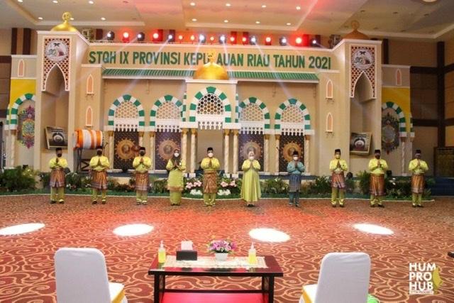 Gubernur Ansar Buka STQH Kepri