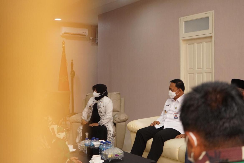 Walikota dan Wakil Walikota kompak silaturahmi dengan Forkopimda