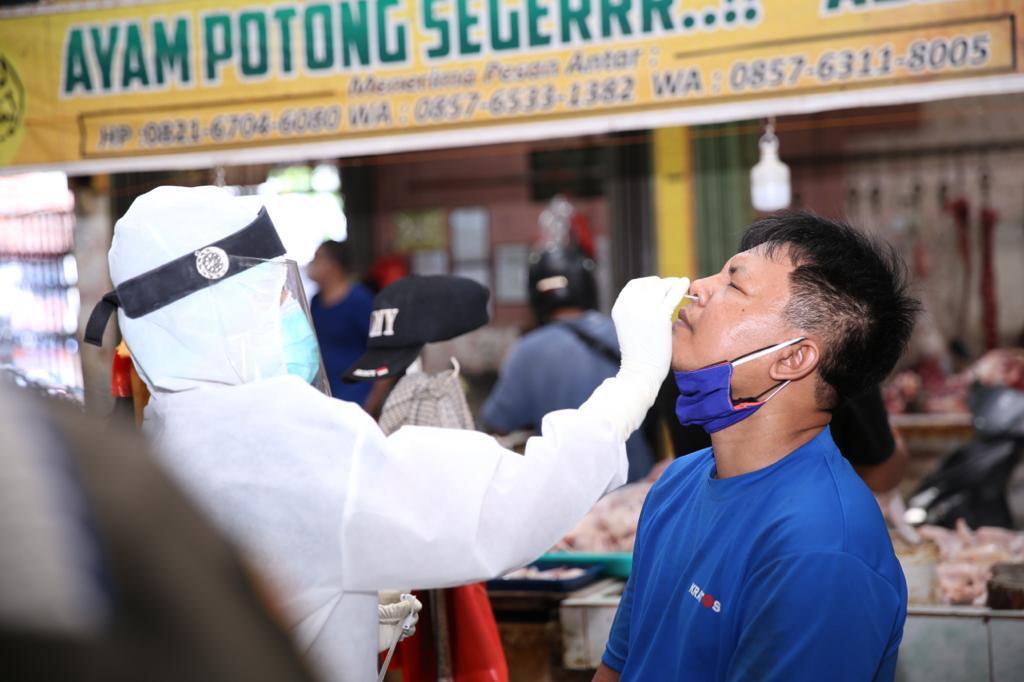 Rapid Antigen Di Pasar Bintan Centre, 12 Orang Positif Covid