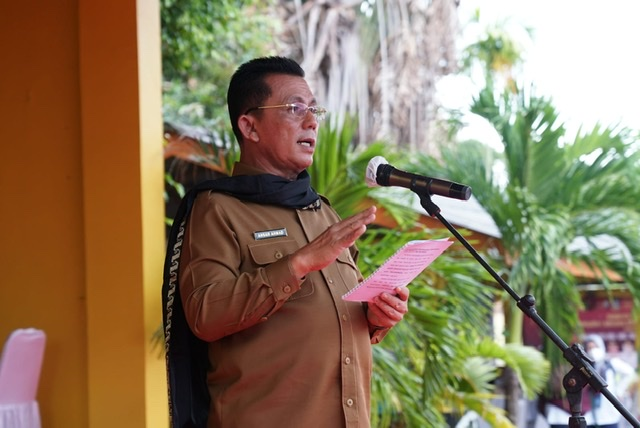 Gubernur Ansar Tinjau Vaksinasi di SMAN 4 Tanjungpinang