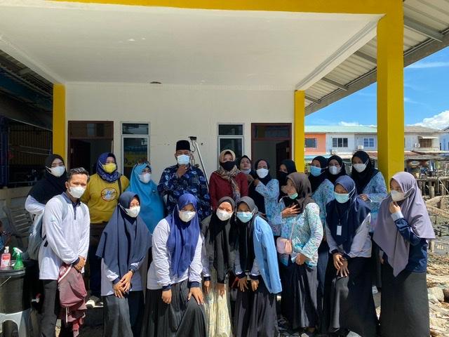 Pengabdian KKN Balek Kampung Berpartisipasi pada Kegiatan Stunting di Posyandu Melati Kelurahan Tanjung Sari, Belakang Padang.
