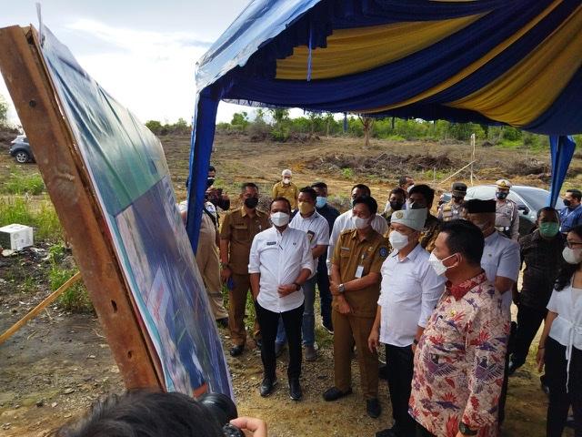 Gubernur Ansar dan Wamen ATR Tinjau Landing Point di Lobam