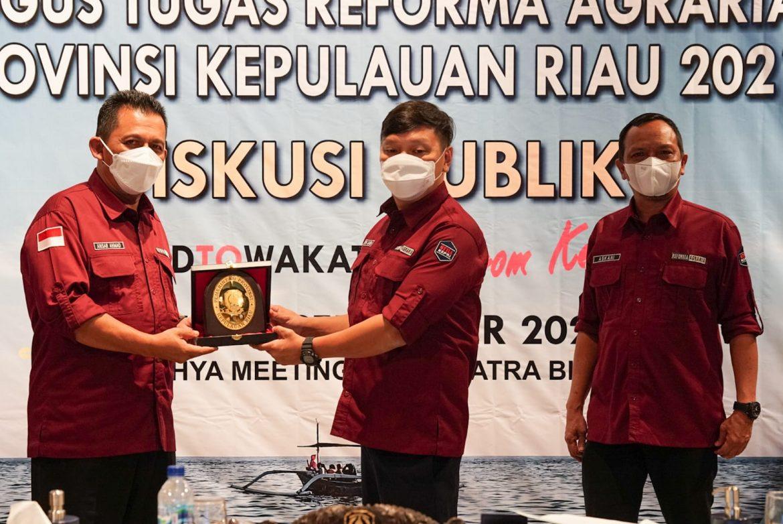 Gubernur Ansar dan Menteri ATR Hadiri Rakor GTRA Terintegrasi Provinsi Kepri