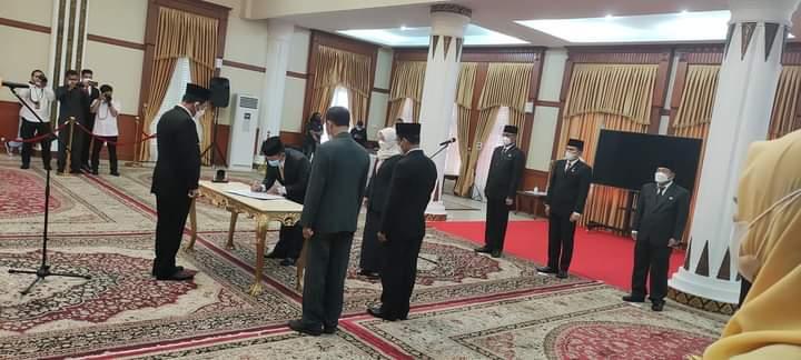 Hasan Definitif Jabat Karo Humprohub