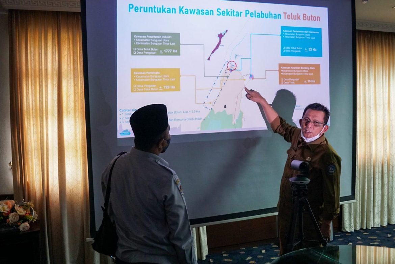 Gubernur dan Dubes KBRI Tokyo Bahas Rencana Pembangunan Pelabuhan Samudera Teluk Buton