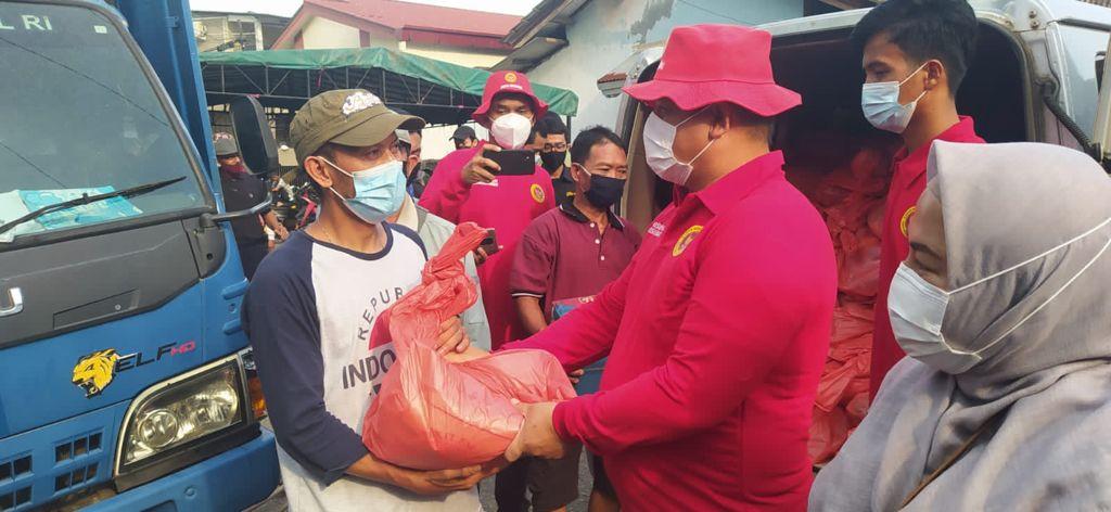 Posko Bantuan Penanganan Covid Bantu Korban Kebakaran