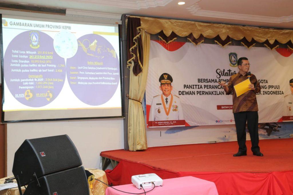 UU Daerah Kepulauan Semakin Memaksimalkan Pembangunan Kepri