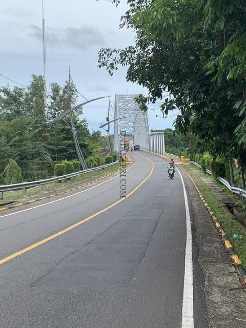 Kabel Lampu Hias Jembatan Sei Carang Dicuri?