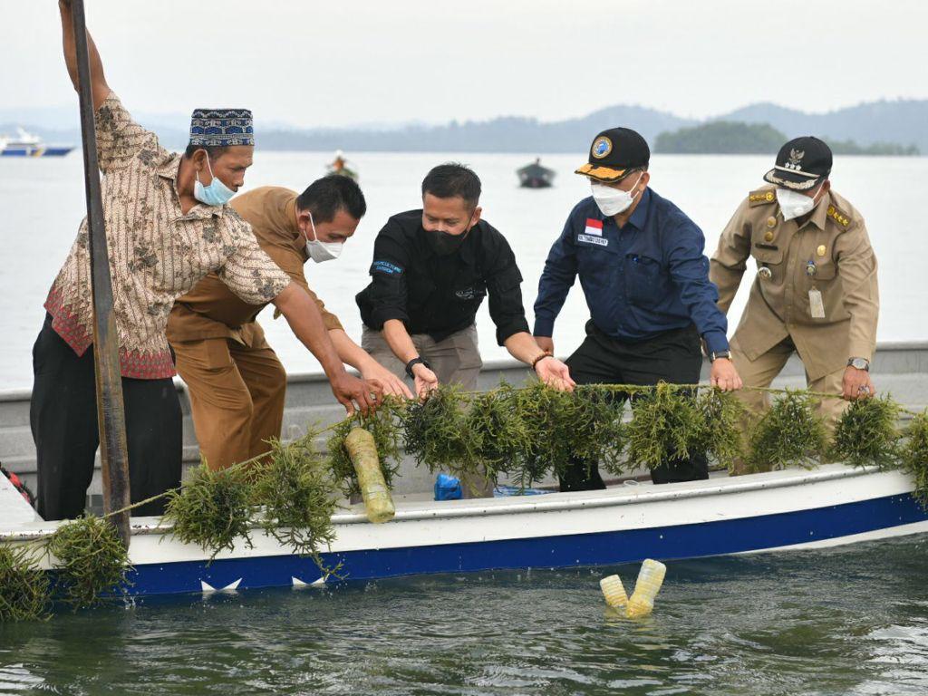 Gubernur: Ekonomi Maritim Harus Tumbuh untuk Kemakmuran Masyarakat