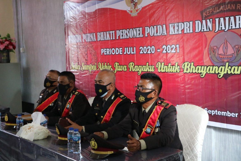 Kapolres Bintan Lepas Personil Polres Bintan Yang Purna Tugas