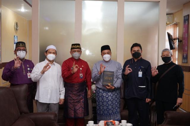 Wawako Tanjungpinang Silaturahmi bersama Rektor UMRAH