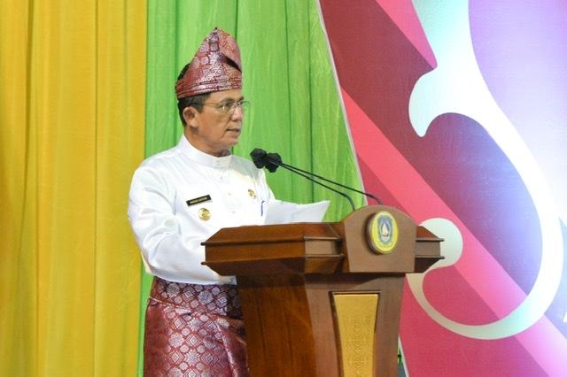 Gubernur dan Wagub Kepri Hadiri Sidang Paripurna HUT Kepri ke-19