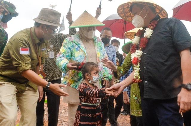 Wagub Kepri dan Wamen ATR Kunjungi Pulau Pelampong