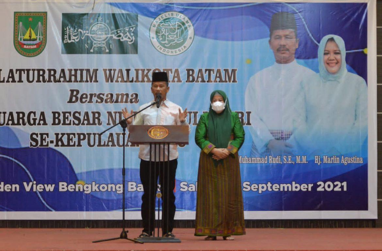 Wagub Kepri & Wako Batam Silaturahmi bersama NU & MUI