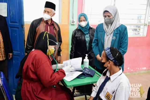 Persiapan Belajar Tatap Muka, PKK Kepri Ikut Percepat Vaksinasi Anak-anak