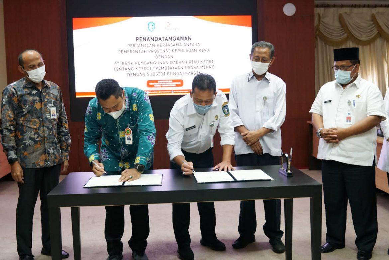 Bunga Ditanggung Pemprov, UMKM Sudah Bisa Mulai Ajukan Pinjaman Ke Bank Riau – Kepri