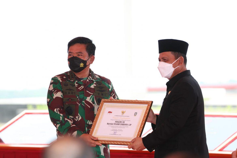 Panglima TNI Resmikan Makogabwilhan I, Ansar: Amunisi Baru Bagi Kepri