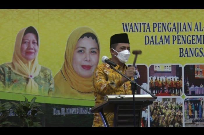 Gubernur Buka Musda IV dan Pelantikan Pengurus DPD Pengajian Alhidayah Kepri