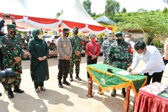 Wagub Kepri Apresiasi TNI yang Terus Bantu Rakyat