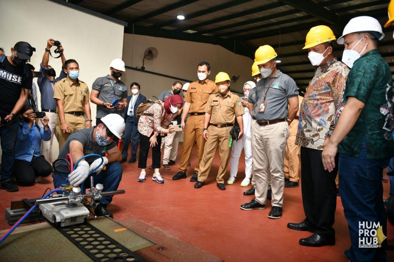 Resmikan LPK Bintan Cakrawala, Ansar: LPK Untuk Menciptakan SDM Terampil dan Berdaya Saing