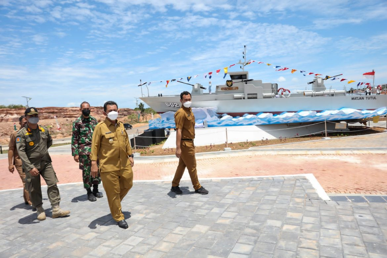 Jelang Kedatangan Panglima TNI, Gubernur Turun Langsung Check Kondisi Kesiapan di Lapangan