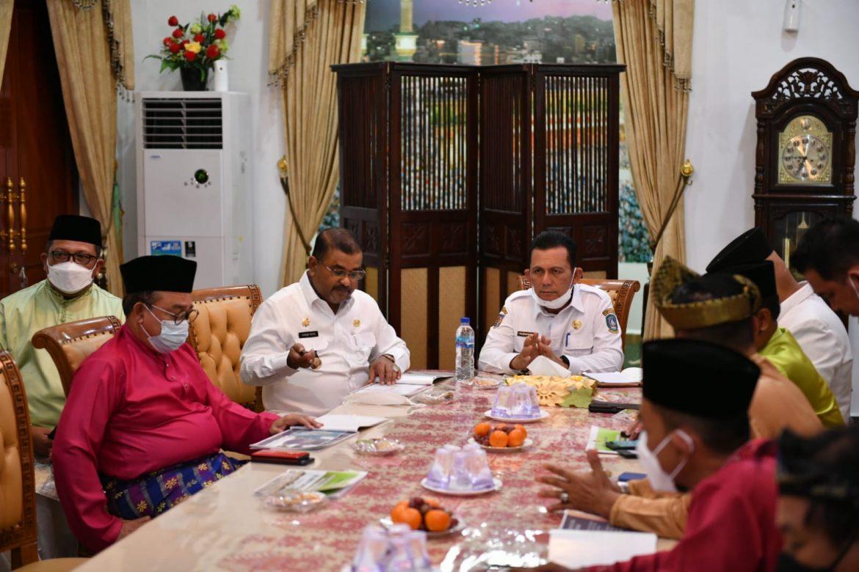 Bersama Bupati Karimun, Gubernur Kepri Pimpin Ratas Perubahan Fungsi Hutan di Kawasan Karimun