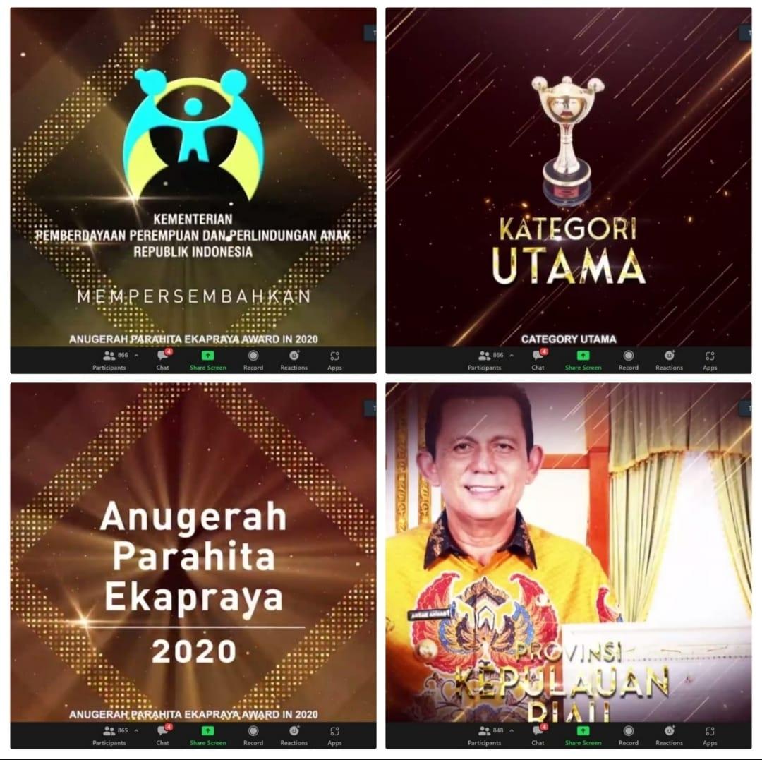 Kepri Kembali Raih Penghargaan Anugerah Parahita Ekapraya